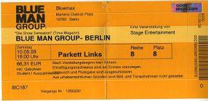 Ticket Blue Men Group