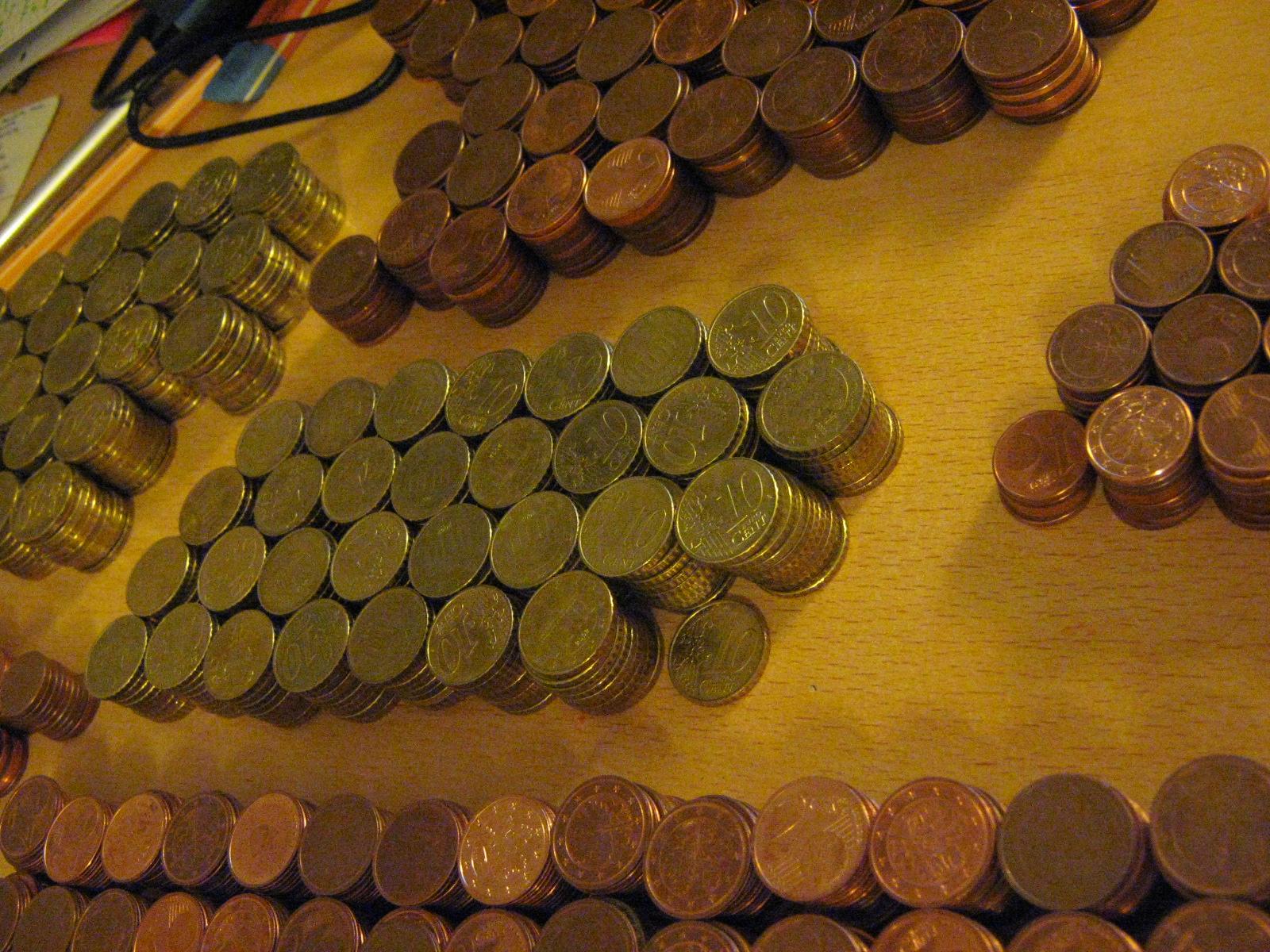 Gespartes Geld Gewogen Geschätzt Gemessen Gerechnet Genau