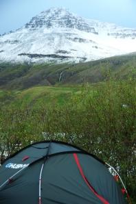 Zelten in Island