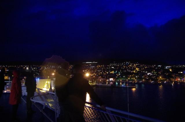 Tórshavn bei Nacht
