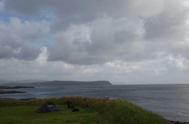 Der Campingplatz auf den Färöern