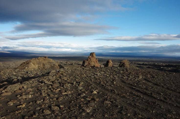 Zwischen Kistufell und Nyidalur - das Hochland gibt nochmal alles