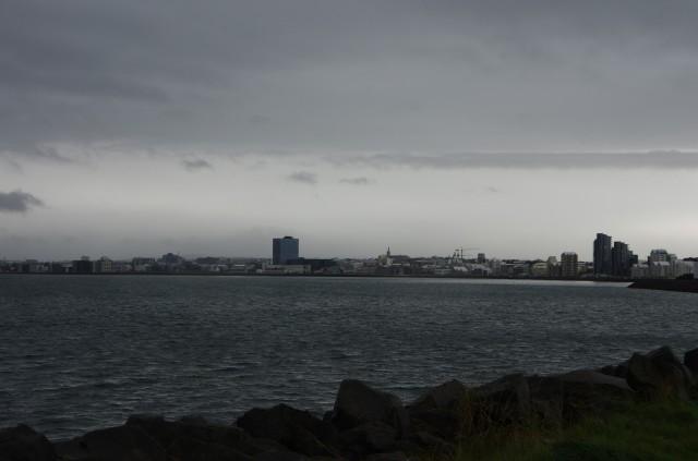 Die Rauchbucht, nach der Reykjavík benannt ist. Heute wohl eher Diesig-Javík