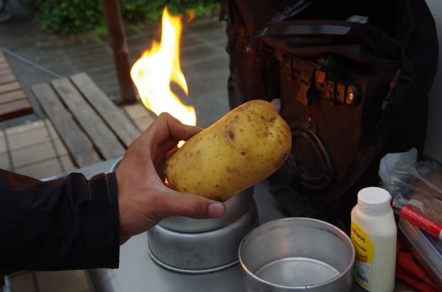 Große Kartoffeln für große Jungs
