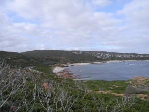Eine der zahlreichen bewohnten Buchten.
