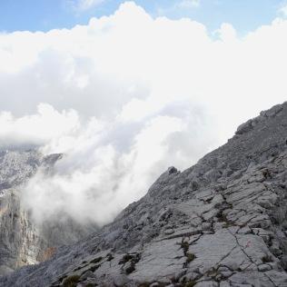 Zwischen den Gipfeln.